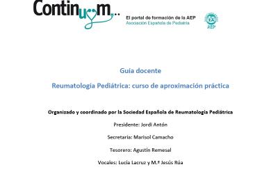 Reumatología Pediátrica: curso de aproximación práctica