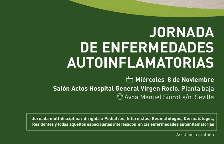 Jornada de Enfermedades Autoinflamatorias