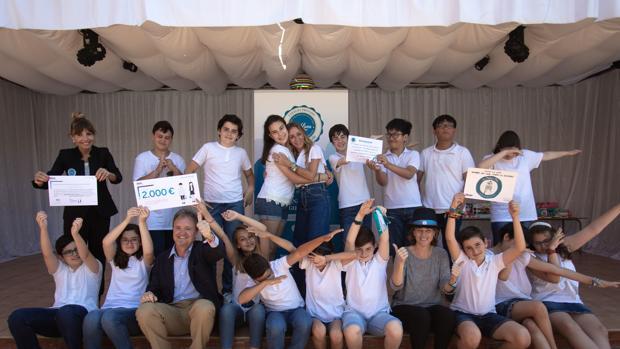 Un premio escolar de BBVA ayudará a la construcción de la Azotea Azul