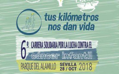 VI Carrera solidaria en Sevilla por la investigación del cáncer infantil